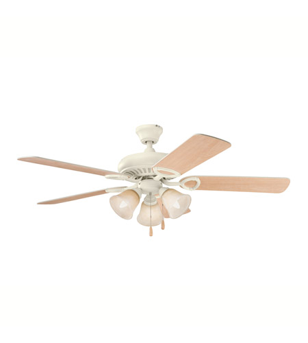 Kichler Lighting Sutter Place Premier 3 Light Fan in Adobe Cream 339400ADC photo