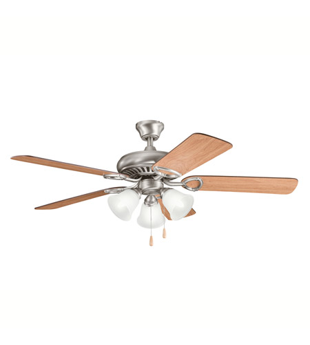Kichler Lighting Sutter Place Premier 3 Light Fan in Antique Pewter 339400AP