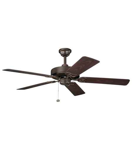 Kichler Lighting Sterling Manor Patio Fan in Tannery Bronze Powder Coat 339520TZP photo