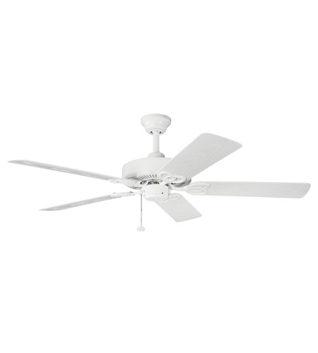 Kichler Lighting Sterling Manor Patio Fan in White 339520WH
