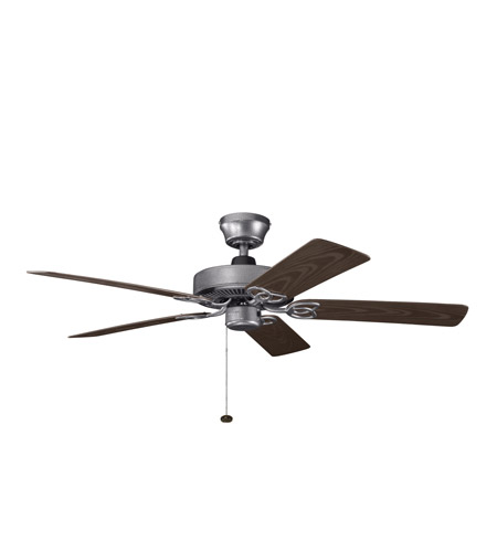 Kichler Lighting Sterling Manor Patio Fan in Weathered Steel Powder Coat 339520WSP photo