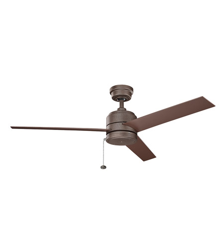 Kichler 339529wcp arkwet patio 52 inch weathered copper powder kichler 339529wcp arkwet patio 52 inch weathered copper powder coat with brown blades ceiling fan mozeypictures Gallery