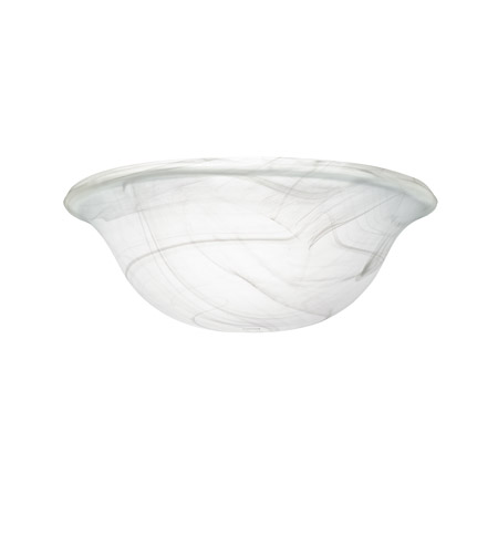 Kichler 340015 Signature Universal Glass Fan Bowl photo