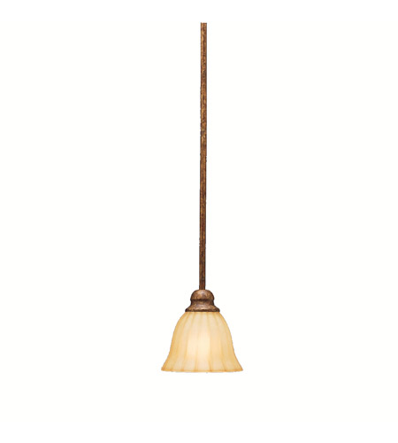 Kichler Lighting Northam 1 Light Mini Pendant in Lincoln Bronze 3422LBZ photo