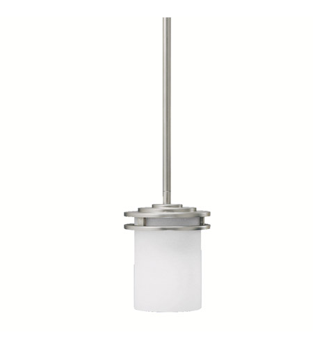 Kichler Lighting Hendrik 1 Light Mini Pendant in Brushed Nickel 3475NI