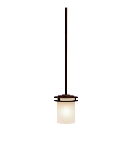 Kichler 3475OZ Hendrik 1 Light 5 inch Olde Bronze Mini Pendant Ceiling Light photo thumbnail