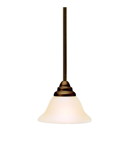 Kichler 3476OZ Telford 1 Light 8 inch Olde Bronze Mini Pendant Ceiling Light photo