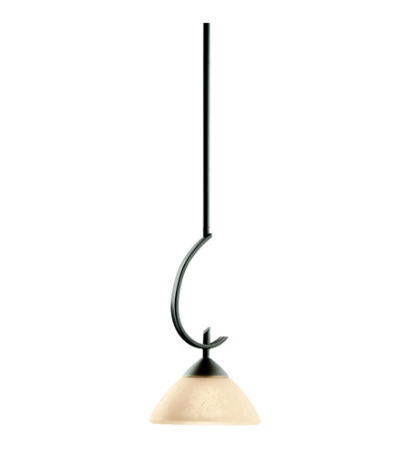Kichler Lighting Olympia 1 Light Mini Pendant in Olde Bronze 3478OZ