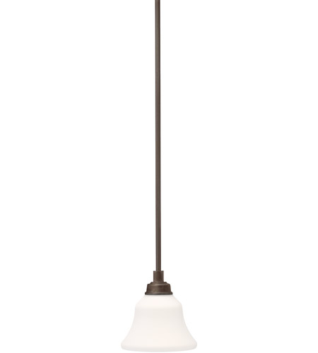 Kichler 3482OZ Langford 1 Light 7 inch Olde Bronze Mini Pendant Ceiling Light photo