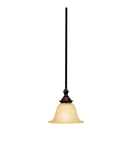 Kichler Lighting Cheswick 1 Light Mini Pendant in Parisian Bronze 3498PRZ
