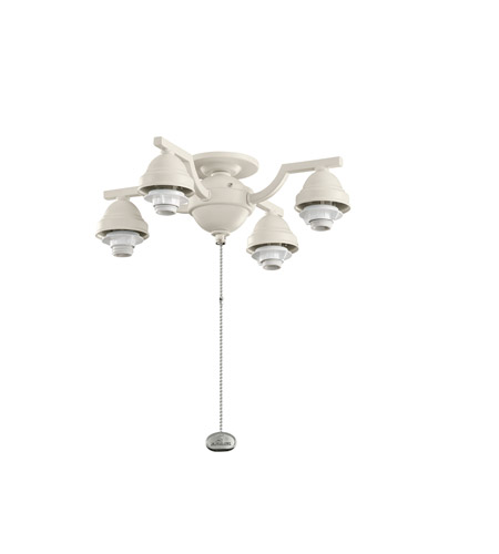 Kichler Lighting 4 Arm Decorative Fitter Fan Fitter in Adobe Cream 350104ADC