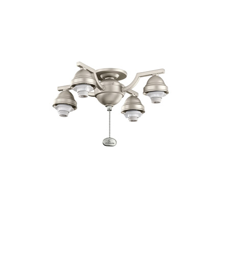 Kichler Lighting 4 Arm Decorative Fitter Fan Fitter in Brushed Nickel 350104NI photo