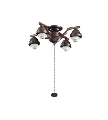 Kichler Lighting 4 Arm Decorative Fitter Fan Fitter in Oil Brushed Bronze 350104OBB photo