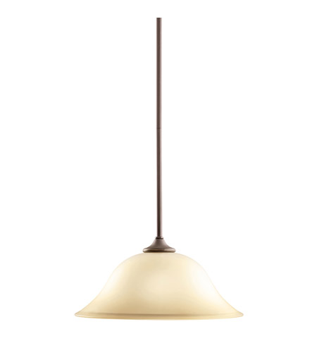 Kichler Lighting Wedgeport 1 Light Pendant in Olde Bronze 3587OZ