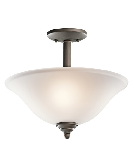 Kichler Lighting Wynberg 2 Light Inverted Pendant in Olde Bronze 3694OZ