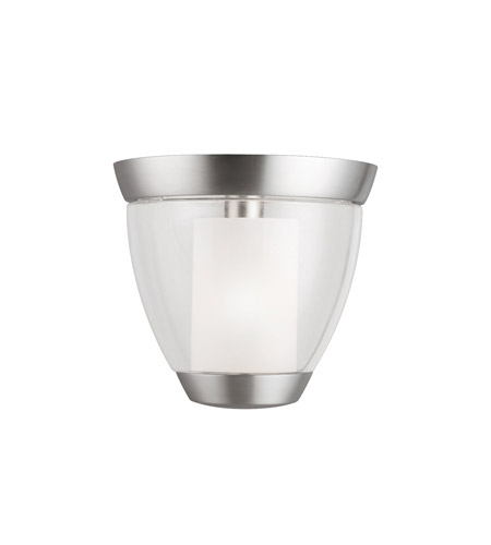 Kichler Lighting Circolo 1 Light Semi-Flush in Brushed Nickel 3695NI