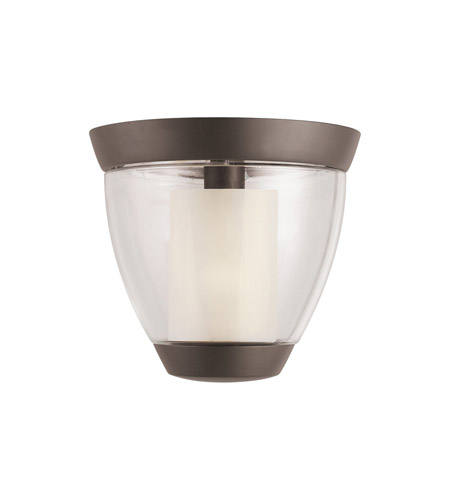 Kichler Lighting Circolo 1 Light Semi-Flush in Olde Bronze 3695OZ