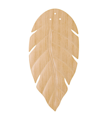 Kichler Lighting White Washed Oak ABS Blade Set Fan Blade Set in Oak 370021 photo
