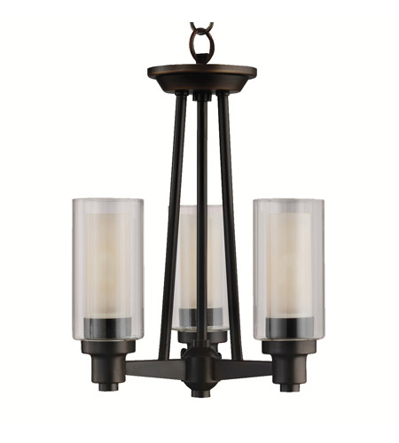 Kichler Lighting Circolo 3 Light Semi-Flush in Olde Bronze 3743OZ