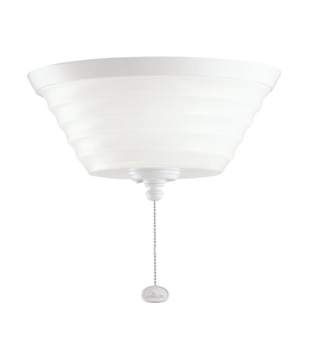 Kichler Lighting Universal Light Fixture 1 Light Fan Light Kit in White 380101WH