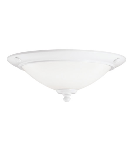 Kichler Lighting Universal Light Fixture Fan Light Kit in White 380107WH
