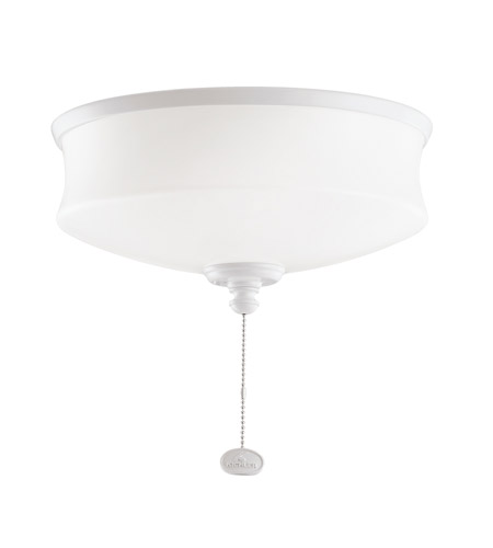Kichler Lighting Universal Light Fixture 1 Light Fan Light Kit in White 380111WH