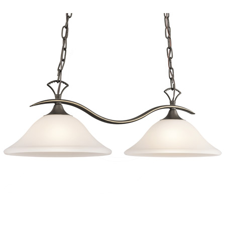 Kichler Lighting Nicholson 2 Light Island Light in Olde Bronze 3802OZS