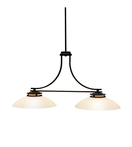 Kichler Lighting Hendrik 2 Light Island Light in Olde Bronze 3875OZ photo