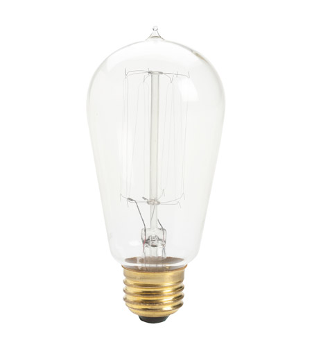 Kichler Lighting Antique Light Bulb Incandescent Bulb in Clear 4071CLR