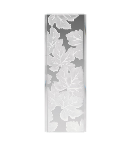 Kichler Lighting Glass Panel Maple Leaves Stocked Glass in Frosted 4083