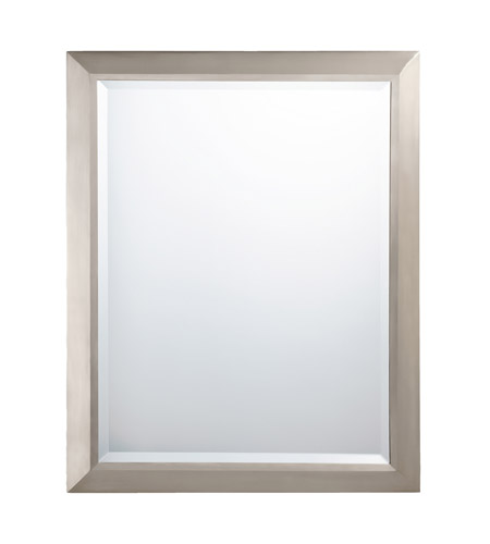 Kichler 41011ni Signature 30 X 24 Inch Brushed Nickel Wall Mirror