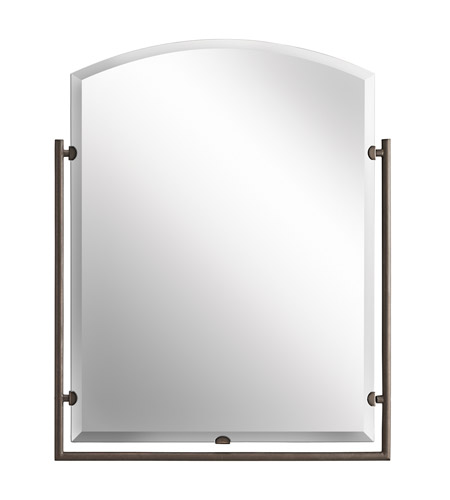 Kichler Lighting Structures Mirror in Olde Bronze 41056OZ photo