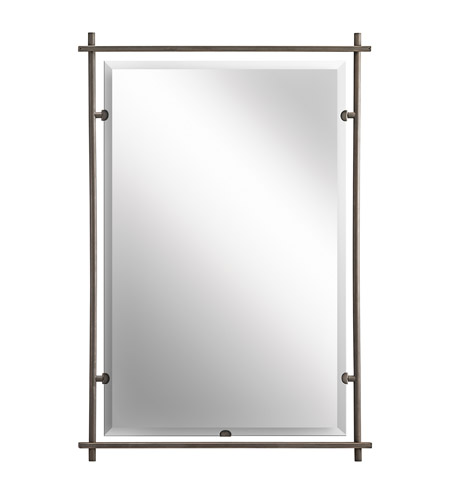 Kichler 41096OZ Eileen 39 X 27 inch Olde Bronze Mirror Home Decor, Rectangular photo