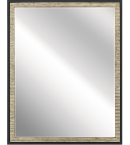 Kichler 41122DAG Millwright 30 X 24 inch Distressed Antique Gray Wall Mirror photo