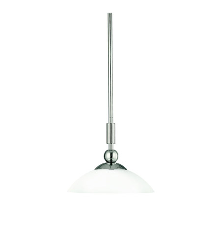 Kichler Lighting Palla 1 Light Mini Pendant in Polished Nickel 42010PN