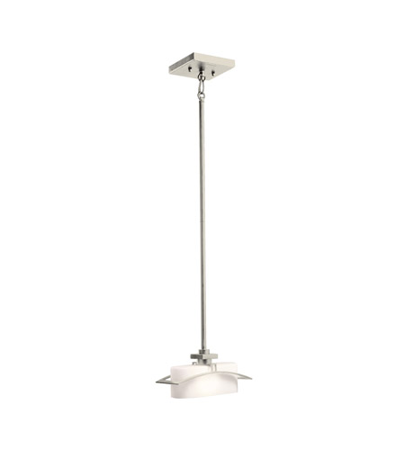 Kichler Lighting Suspension 1 Light Mini Pendant in Brushed Nickel 42016NI