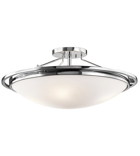 Kichler Lighting Signature 4 Light Semi-Flush in Chrome 42025CH photo