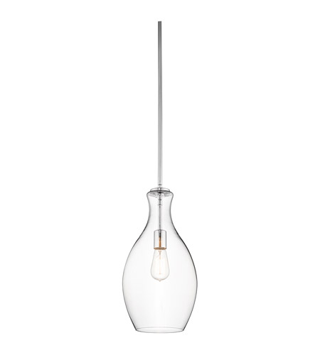 Kichler Lighting Everly 1 Light Pendant in Chrome 42047CH