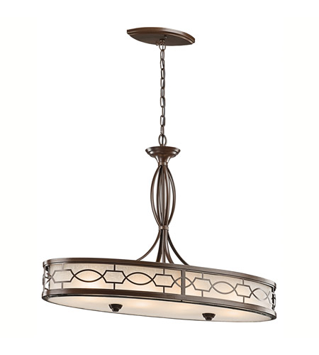 Kichler Lighting Punctuation 4 Light Pendant in Mission Bronze 42053MIZ
