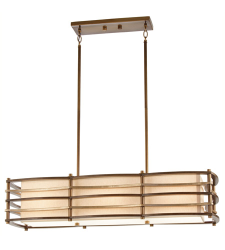 Kichler Lighting Moxie 3 Light Island Light in Cambridge Bronze 42061CMZ