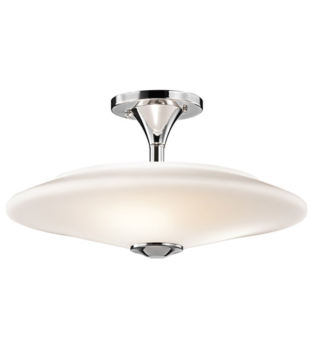 Kichler Lighting Signature 3 Light Semi-Flush in Chrome 42079CH