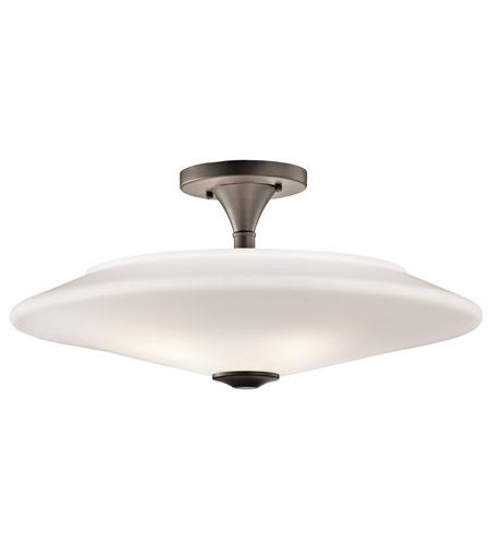 Kichler Lighting Signature 4 Light Semi-Flush in Olde Bronze 42080OZ