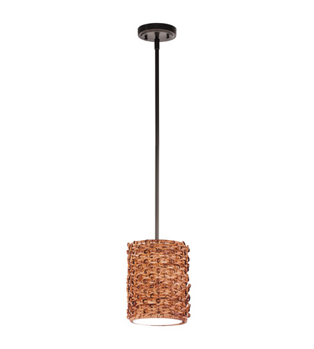 Kichler Lighting Signature 1 Light Mini Pendant in Olde Bronze 42085OZ