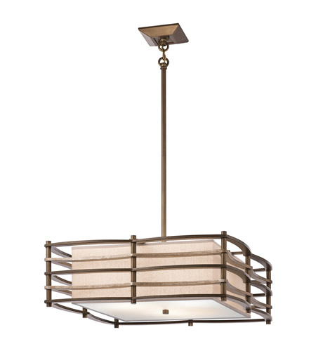 Kichler Lighting Moxie 3 Light Inverted Pendant in Cambridge Bronze 42098CMZ