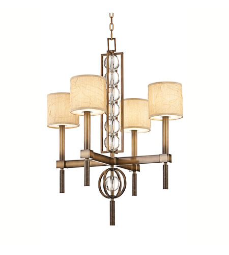 Kichler Lighting Celestial 4 Light Chandelier in Cambridge Bronze 42104CMZ photo