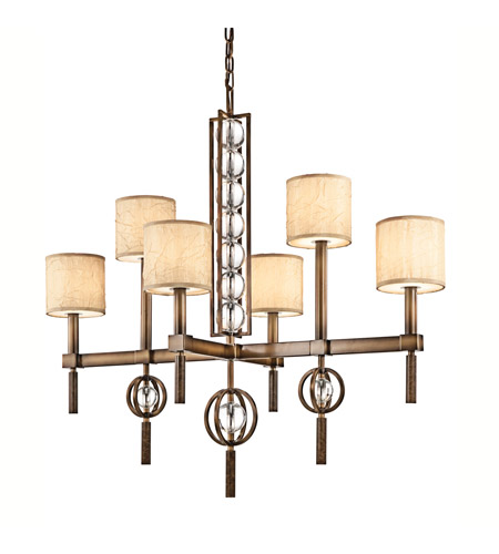 Kichler Lighting Celestial 6 Light Chandelier in Cambridge Bronze 42105CMZ photo