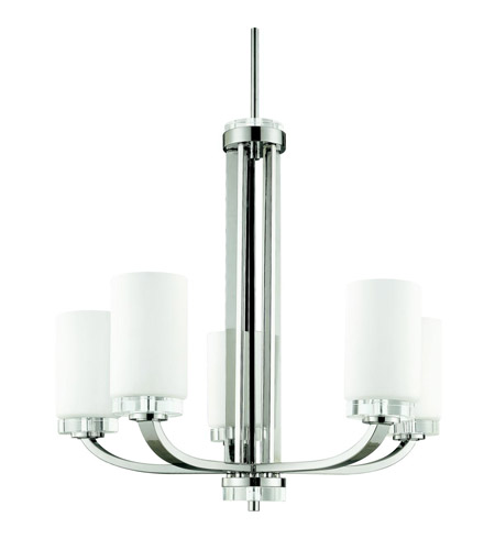 Kichler Lighting Reynes 5 Light Chandelier in Chrome 42118CH photo