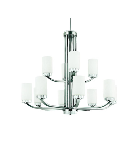 Kichler Lighting Reynes 12 Light Chandelier in Chrome 42120CH