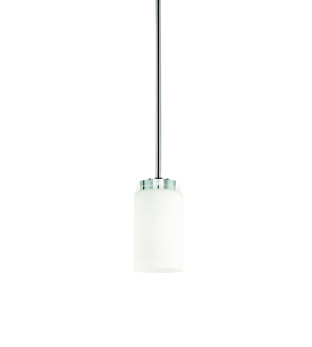 Kichler Lighting Reynes 1 Light Mini Pendant in Chrome 42123CH