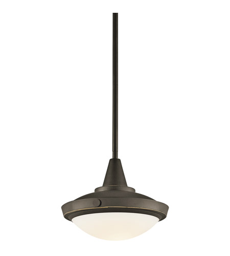 Kichler Lighting Fremont 1 Light Pendant in Olde Bronze 42134OZ